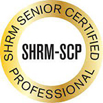 SHRM-SCP Certification badge